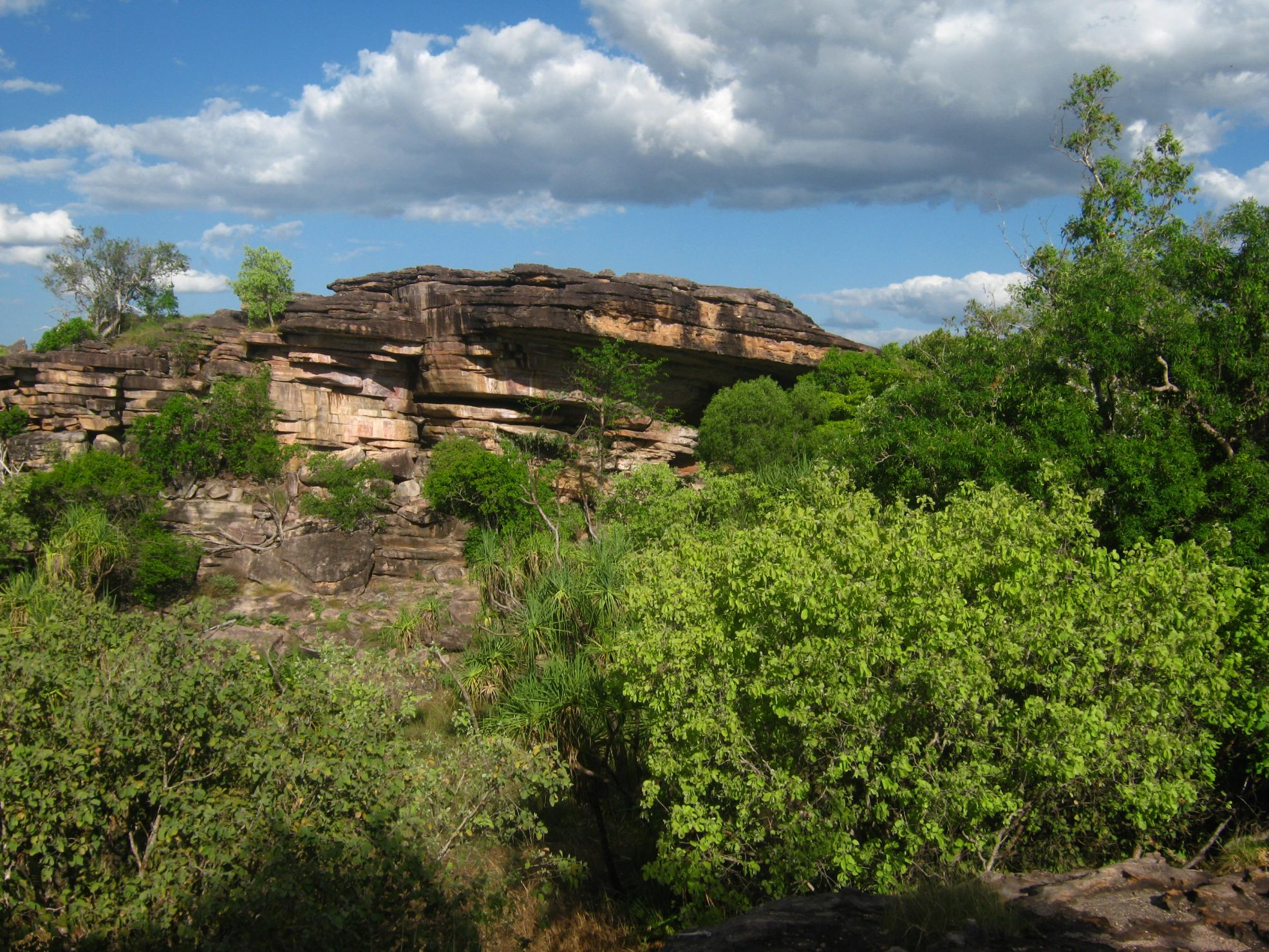 Ubirr Rock.