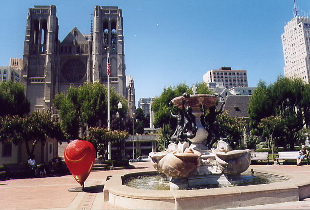 Grace Cathedral a Nob Hill