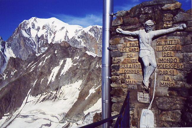 Funivia Del Monte Bianco Da Courmayeur A Chamonix